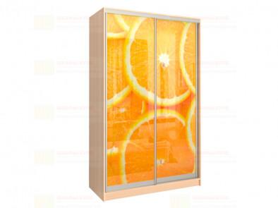 Шкаф-купе 2-х дверный с фотопечатью Модерн 240 фото 4-83 Апельсины