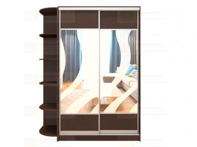 Шкаф-купе 2-х дверный с пескоструйным рисунком Модерн 261 К1