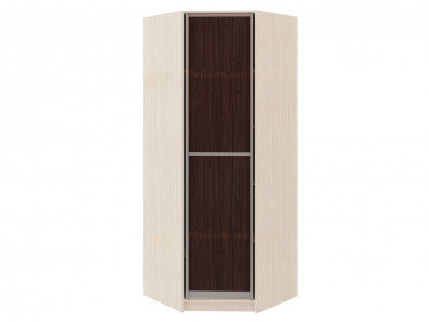 Угловой шкаф диагональный с распашной дверью Модерн 109